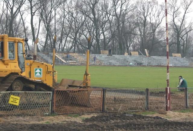Miejski stadion przechodzi gruntowną modernizację