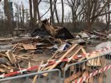 Śmiertelny wypadek na budowie w Sopocie. Nie żyje robotnik, dwóch innych zostało rannych. Zdjęcia