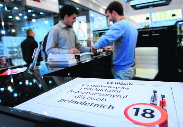 Akcje informacyjne przeciw e-papierosom dla dzieci prowadzone są w całej Polsce