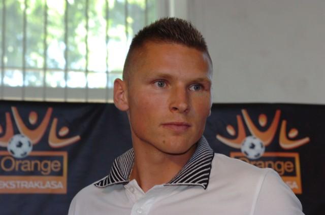 Marcin Robak był napastnikiem Widzewa