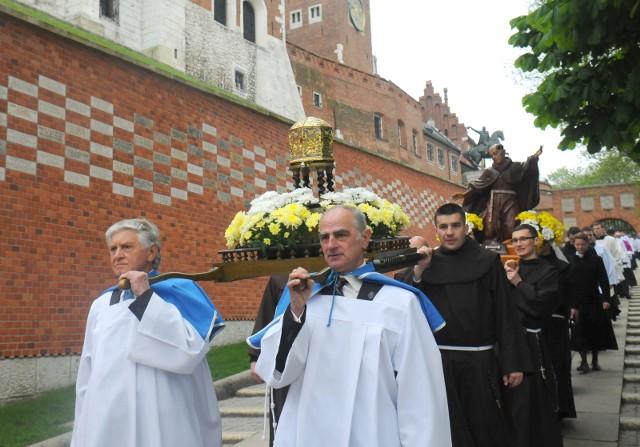 Procesja św. Stanisława w 2016 roku