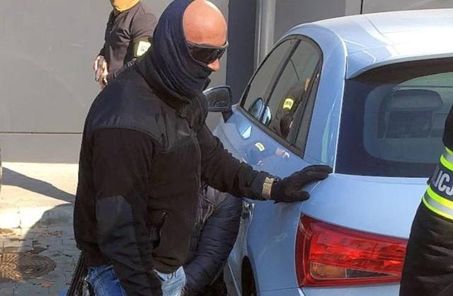 W akcji zatrzymania Tomasza B., Dariusza L. i Artura G. brali udział antyterroryści z Centralnego Pododdziału Policji BOA