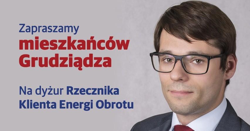 Zespół Rzecznika Klienta Energi Obrotu odwiedzi Grudziądz