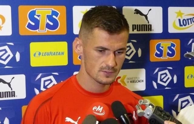 -Gdzie zagram w przyszłym sezonie? -Jestem zawodnikiem Korony Kielce i mam jej pomóc w walce o utrzymanie w ekstraklasie, a potem pojechać z kadrą na Euro 2020 - mówi Adnan Kovacević.