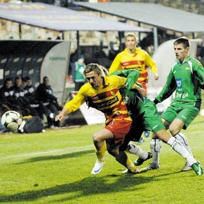 Jagiellonia wygrała 2:0 z Lechią