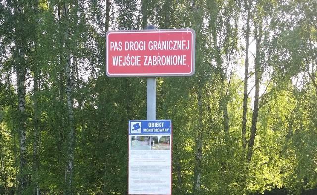 Włoch przekroczył granicę z Białorusią na odcinku, który jest monitorowany