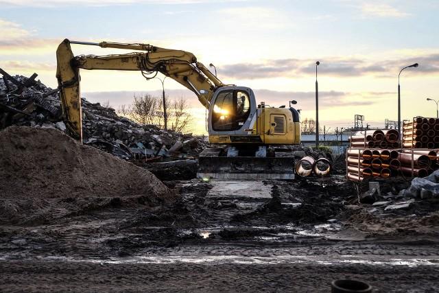 Po zburzeniu starego dworca PKS w Białymstoku ruszyła nowa inwestycja.Zobacz też: