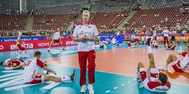 Zawodnicy Vitala Heynena tym razem nie zagrają w Atlas Arenie, tylko w Sport Arenie w Łodzi
