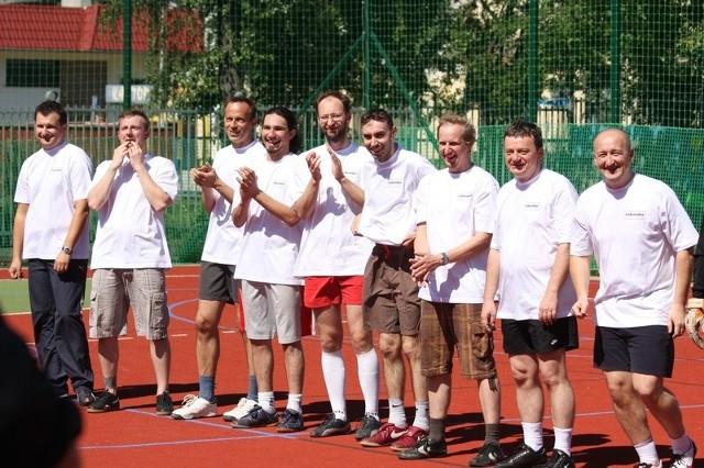 Opole 2009. Kabareciarze graja w pilke