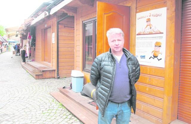 Nowy punkt strażników miejskiej znajdzie się na targu maślanym pod Gubałówką - zapowiada Marek Trzaskoś