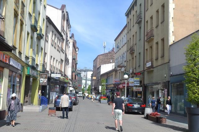 Ulica Modrzejowskiej w Sosnowcu