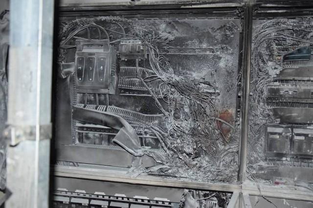 Pożar na stadionie Stali w Gorzowie