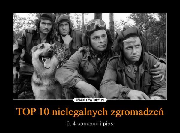 TOP 10 nielegalnych zgromadzeń: takie memy zaczęli tworzyć...