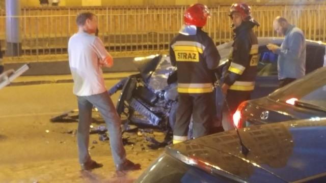 Wypadek koło placu Dominikańskiego
