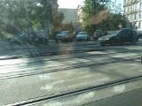 Niecodzienny widok. Szyna tramwajowa wygięła się na kilkadziesiąt centymetrów do góry