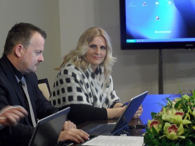 Dominika Tajner Wiśniewska w towarzystwie Arkadiusza Chęcińskiego