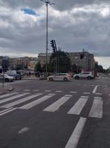 Wypadek w Gdyni. 12.07.2020 r. . Na ul. Armii Krajowej zderzyły się dwa samochody. Jedna osoba poszkodowana