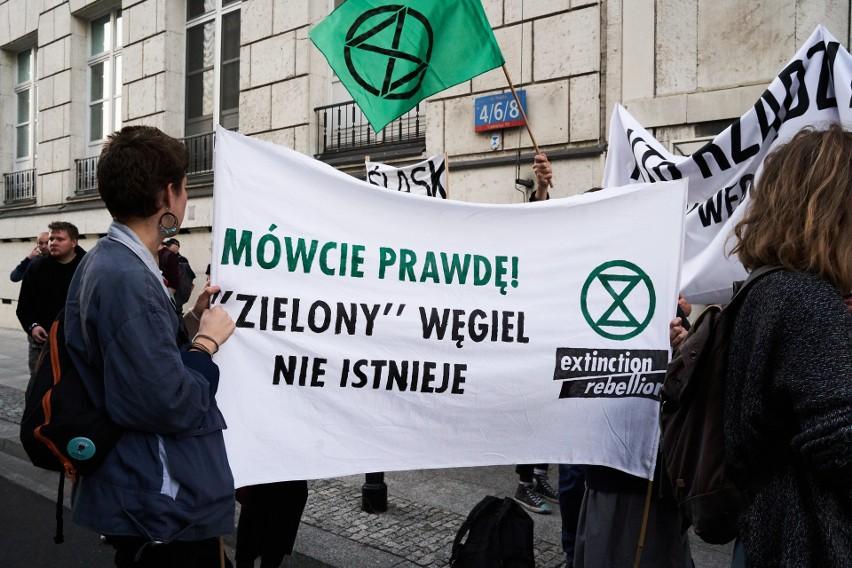 Protesty przeciwko specustawie węglowej. Nie chcą nowych...
