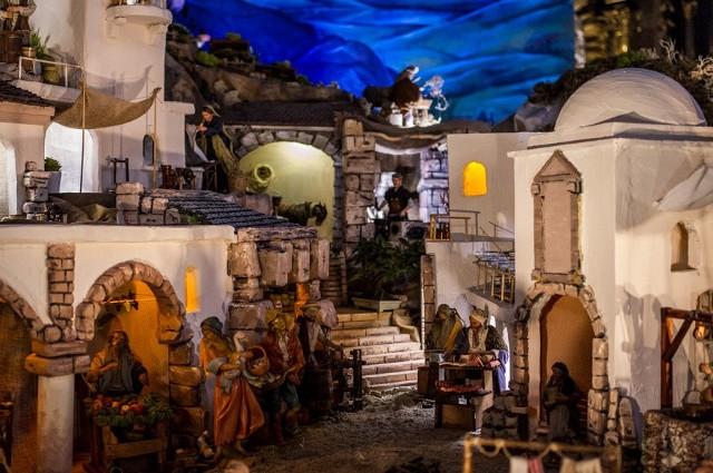 Szopka bożonarodzeniowa z Sanktuarium w Kalwarii Zebrzydowskiej