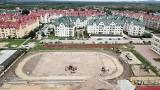 Przy Szkole Podstawowej numer 25 w Kielcach powstają nowoczesne boiska z Budżetu Obywatelskiego [ZDJĘCIA]