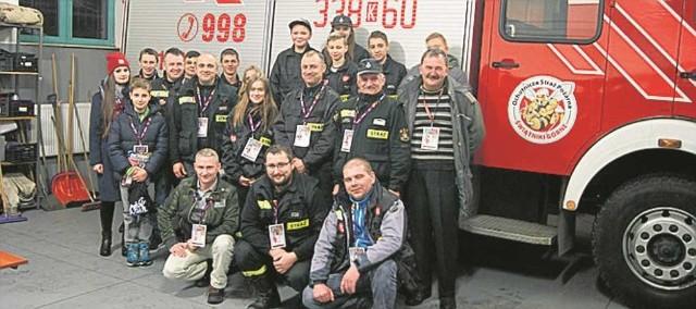Wolontariusze sztabu OSP w Świątnikach Górnych znowu w akcji