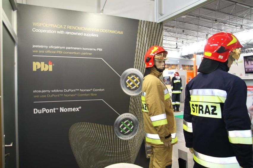 Tkanina Proton hitem Andropolu na targach pożarnictwa w...