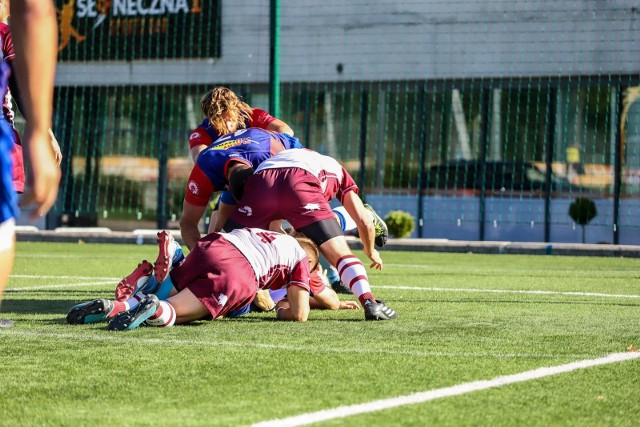 Białostoccy rugbyści nie dali szans rywalom z Łodzi