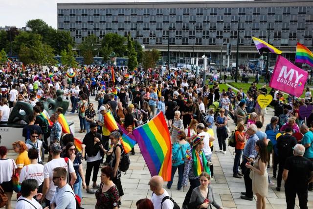 Krakowski Marsz Równości z 2019 roku