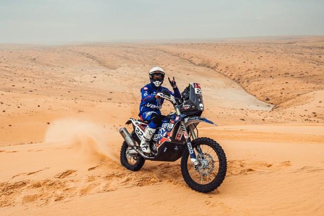 Maciej Giemza z ORLEN Team po 7. etapie jest na 20 pozycji Rajdu Dakar.