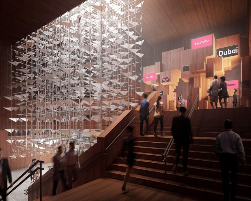 Polski Pawilon przygotowany na EXPO 2020