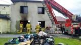 Pożar w Bujakowie. Pięcioosobowa rodzina straciła dach nad głową