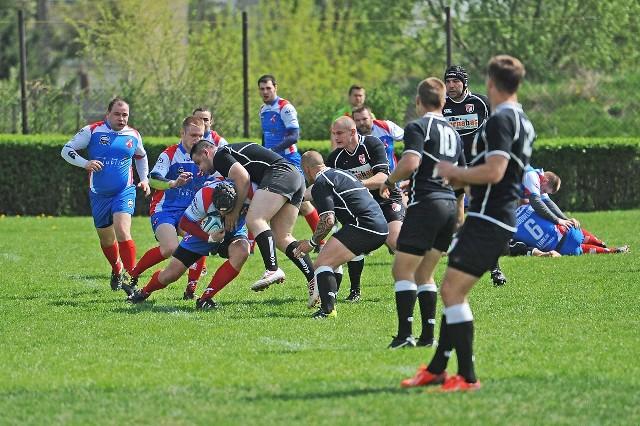 Ekstraliga rugby: Posnania - Budowlani Lublin. Wynik 72:7