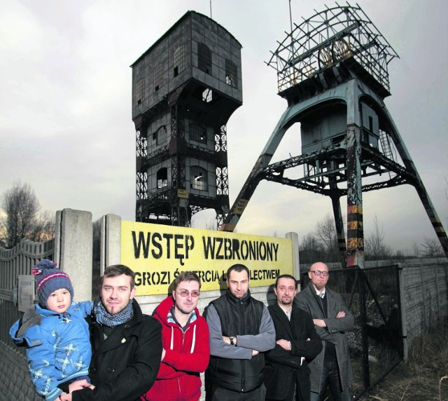 Stowarzyszenie walczy o uratowanie jedynego w mieście górniczego zabytku