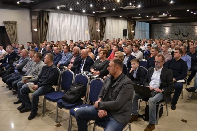 Konferencja informacyjno-edukacyjna była świetną okazją do merytorycznej dyskusji i poruszania tematów aktualnych i istotnych dla rolników
