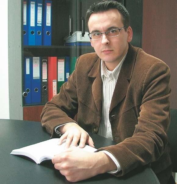 Marcin Kaczmarek z Okręgowego Inspektoratu Pracy w Zielonej Górze.