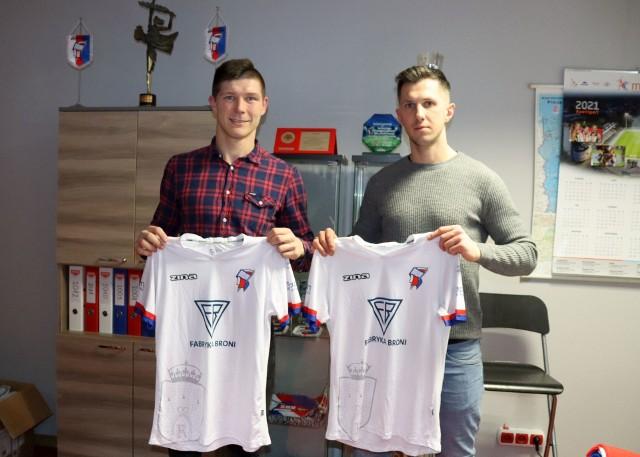 Krzysztof Kiercz i Mateusz Jagiełło zagrają wiosną w Broni