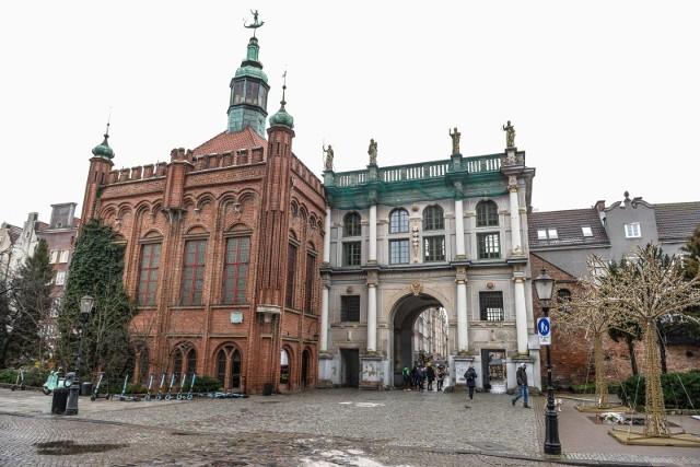Rusza proces modernizacji Złotej Bramy w Gdańsku.