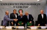Podpisanie porozumienia o współpracy pomiędzy Związkiem Uczelni Lubelskich a Uniwersytetem Medycznym w Lublinie