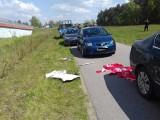 Policyjna obława na kiboli Widzewa na autostradzie A1! [FILM, zdjęcia]