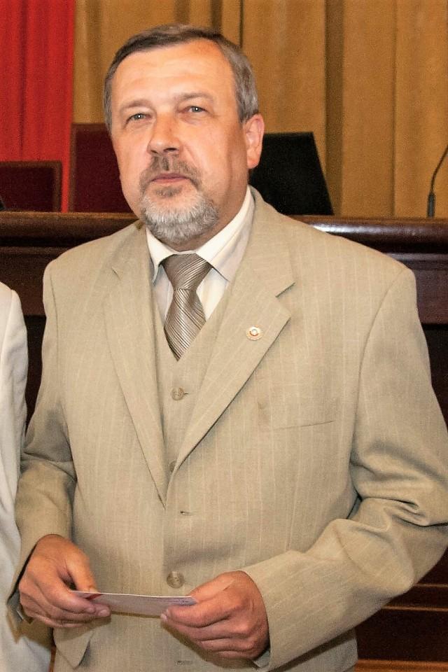 Tomasz Muszyński, przewodniczący Komisji do spraw Licencji Klubowych Łódzkiego Związku Piłki Nożnej