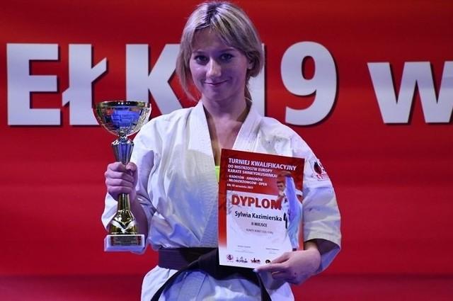 Sylwia Kazimierska zajęła drugie miejsce.