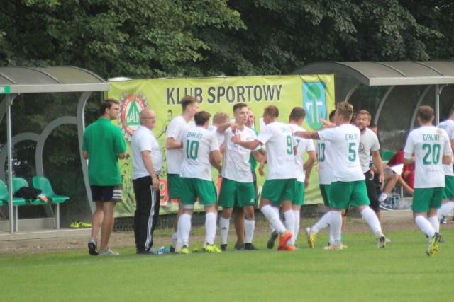 Piłkarze Dalinu Myślenice grają obecnie w IV lidze