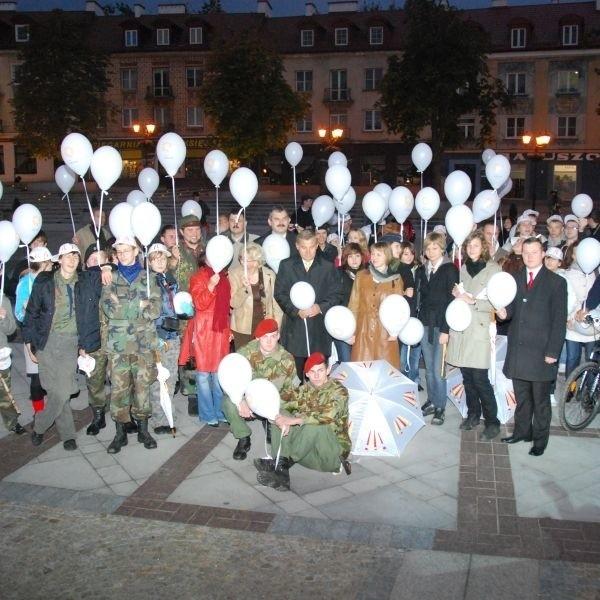 Powitali wschodzący Białystok