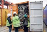 W gdyńskim porcie zatrzymano ponad milion kilogramów śmieci zatrzymali w porcie
