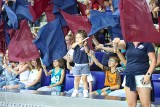 Wilki Morskie wróciły do Netto Areny po roku. Kibice na trybunach, cheerleaderki na parkiecie. ZDJĘCIA