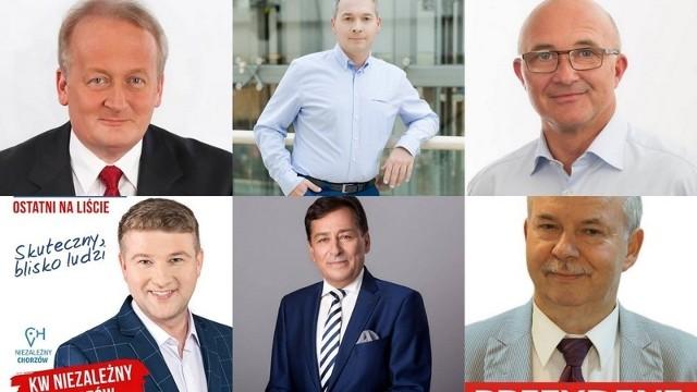 Kandydaci na prezydenta Chorzowa