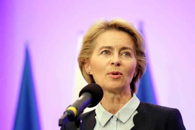 Przewodnicząca Komisji Europejskiej: Zaczynamy odwracać historię tego trudnego roku fot marek szawdyn/polska press