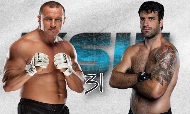 Walka Pudzian vs Gracie będzie największą atrakcją gali KSW 31