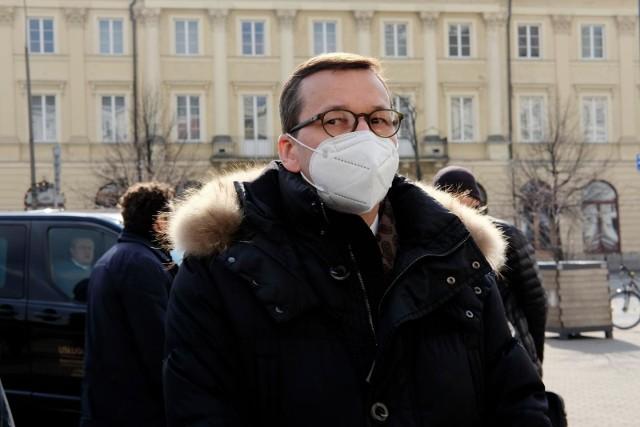 Premier Mateusz Morawiecki: Narodowy Program Szczepień coraz szybciej się rozkręca, coraz więcej szczepionek przyjeżdża do Polski