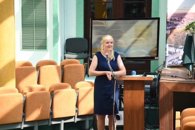 O tym czy biznes ma płeć mówiła Anna Sabat z Zakładu Zarządzania Strategicznego na Wydziale Prawa i Administracji Uniwersytetu Jana Kochanowskiego w Kielcach.